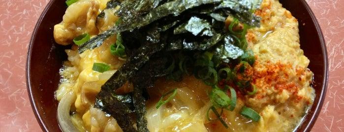 どんぶりマルナカ is one of 神戸で食べる.