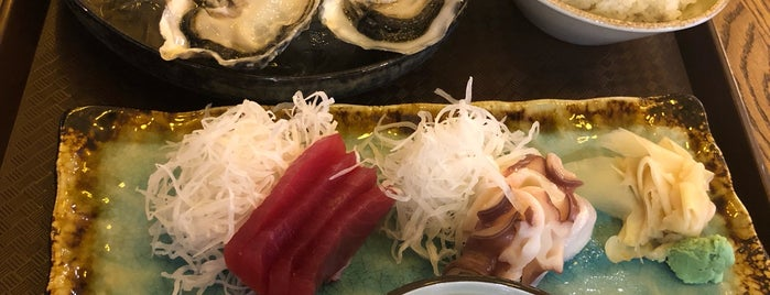 Ryba Sushi & Oysters is one of Ресторан.