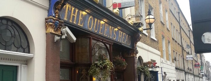 The Queen's Head is one of London Pint.