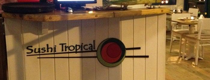 Tropical Sushi is one of Guia Rio Sushi by Hamond.