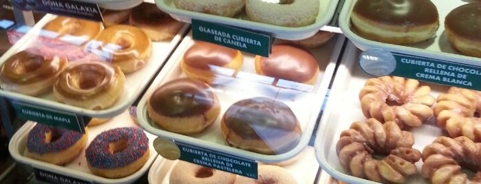 Krispy Kreme is one of YA FUI PUEBLA.