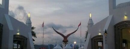 Eagle Square (Dataran Lang) is one of Langkawi Trip 2013.