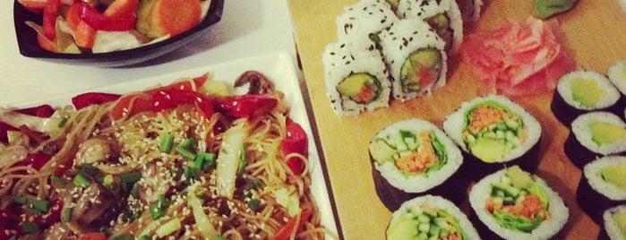 Sake Sushi Bar is one of Tifliss.