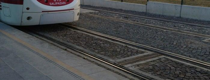 Atakent Tramvay Durağı is one of Samsun'un Hafif Raylı Sistemleri.