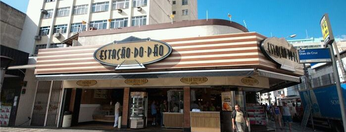 Estação do Pão is one of Melhores Confeitarias, Padarias, Cafés do RJ.