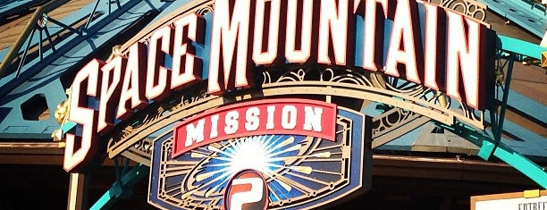 Space Mountain: Mission 2 is one of Paris.
