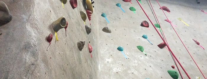 Boulders Climbing Gym is one of Madison Destinations.