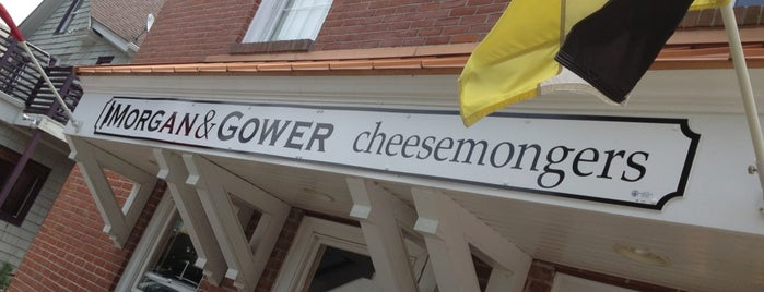 Morgan & Gower Cheesemongers - Cheese Shop is one of Staycation places.