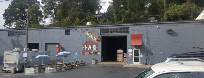 Hi-Wire Big Top is one of Asheville.