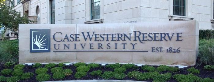 Case Western Reserve University is one of Bucket list.