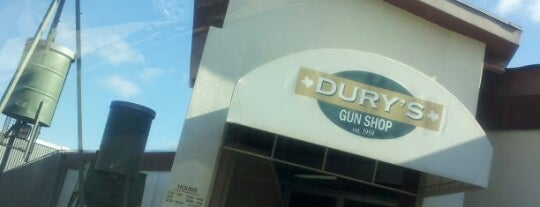 Dury's Gun Shop is one of The 15 Best Places with Good Service in San Antonio.