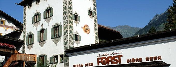 Brauerei/Birreria Forst - Bräustüberl Forst - Braugarten/Giardino Forst is one of Lagundo e dintorni.
