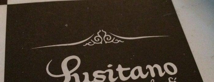 Lusitano is one of Stgo. City.