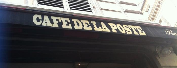 Café de la Poste is one of Paris.