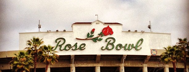 Rose Bowl Stadium is one of Favorite places.