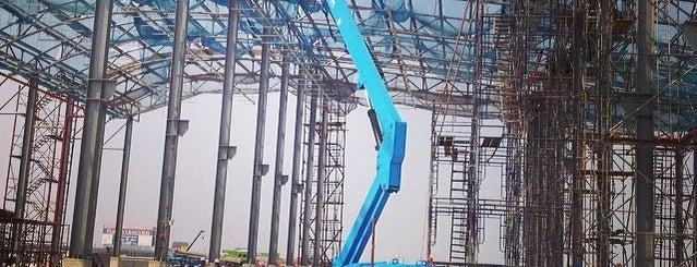 [Construction Site] MRT Purple Line EMU Depot (ศูนย์ซ่อมบำรุงรถไฟฟ้าสายสีม่วง) is one of MRT.