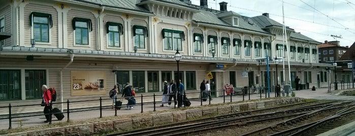 Östersund Centralstation is one of Tågstationer - Sverige.