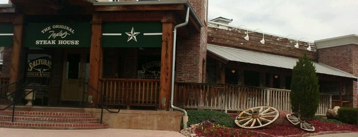 Saltgrass Steakhouse is one of Time for a steak tour.