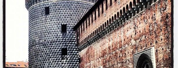 Sforza Castle is one of Milano.