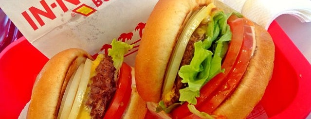 In-N-Out Burger is one of California 2012.