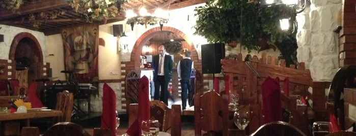 Старый Фаэтон is one of мои рестораны.