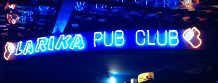 Larika Pub & Club is one of Quero Ir.