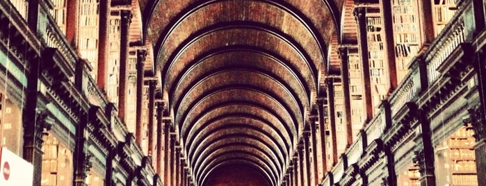Trinity College Old Library & The Book of Kells Exhibition is one of Dublin - the ultimate guide.