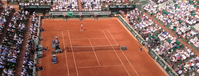 Stade Roland Garros is one of France.