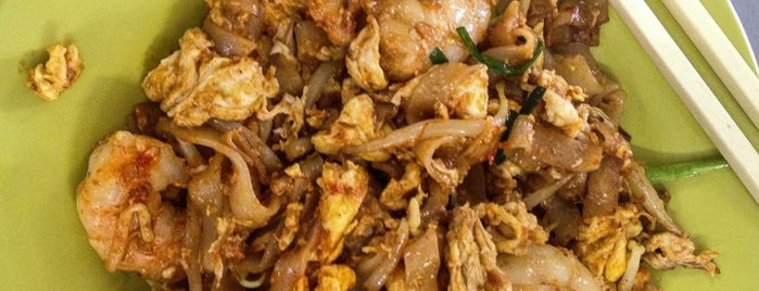 Kafe Khoon Hiang (亚龙炒粿条 Ah Leng Char Koay Teow) is one of Penang.