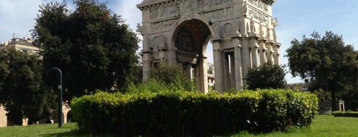 Piazza della Vittoria is one of √ Best Tour in Genova.