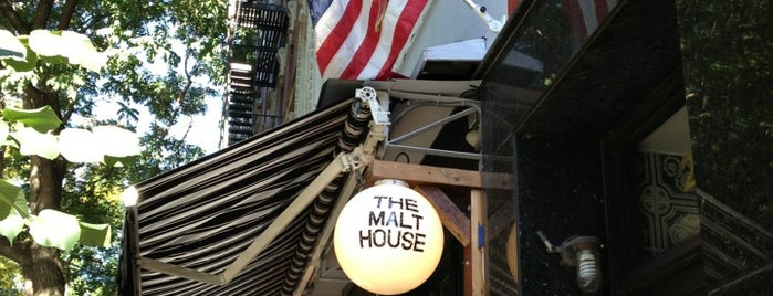 The Malt House is one of New Bars to Try.