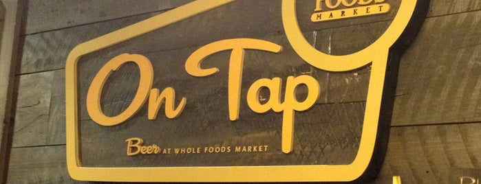 On Tap at Whole Foods is one of USA NYC Must Do.