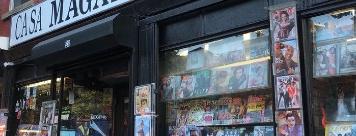 Casa Magazines is one of Greenwich Village / West Village.