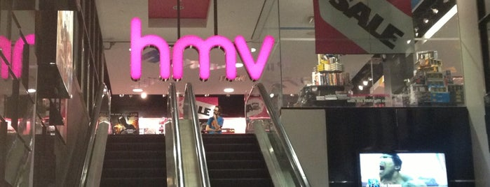 HMV is one of Music To My Ears!!.