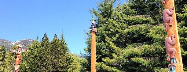 Saxman Totem Village is one of Alyssa's Alaska visit.