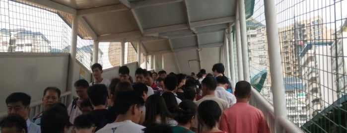 Kengkou Metro Station is one of 廣州 Guangzhou - Metro Stations.