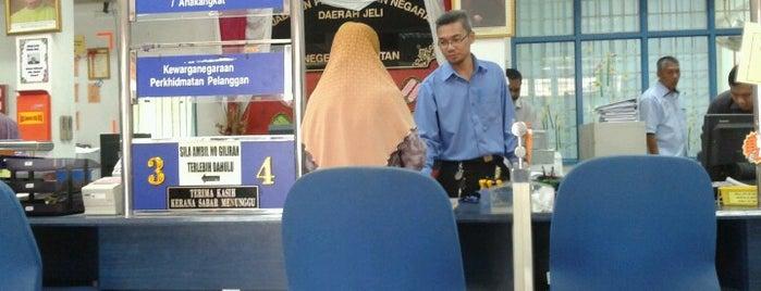 Jabatan Pendaftaran Negara (JPN) is one of @Jeli, Kelantan.