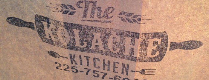 The KOLACHE KITCHEN is one of BR eats.