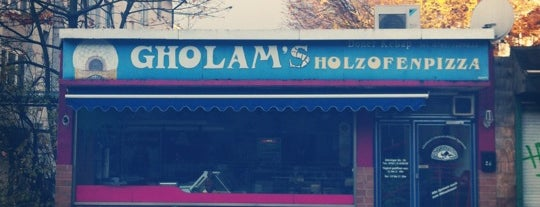 Gholams Holzofenpizza is one of To go!.