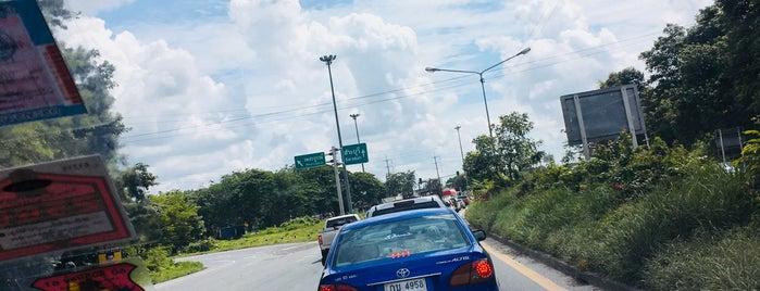 แยกพุแค (Phu Khae Junction) is one of Bkk - Lopburi Way.