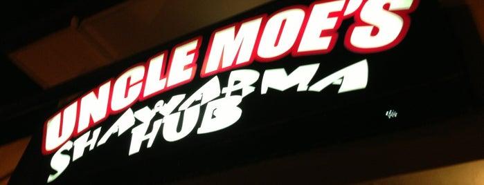 Uncle Moe's Shawarma Hub is one of Favorite Food.