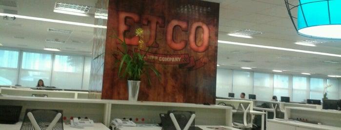 ETCO. A WPP Company. is one of Agências de publicidade.