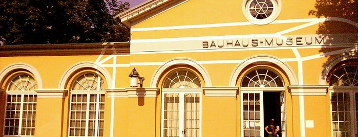 Bauhaus-Museum is one of Weimar.