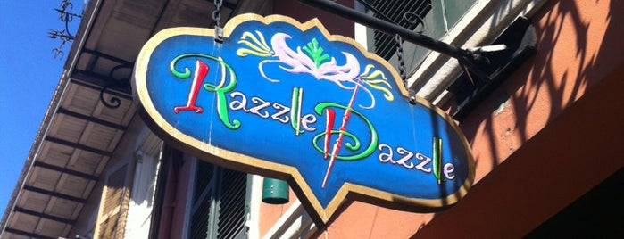 Razzle Dazzle is one of What we love about New Orleans.