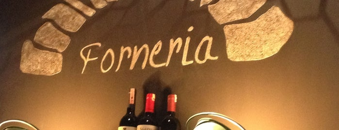 Forneria is one of Good food in town.