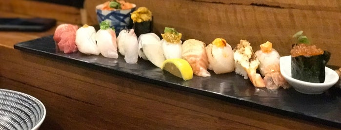 At Restaurant (@! Restaurant) is one of The 15 Best Places for Sushi in Sydney.