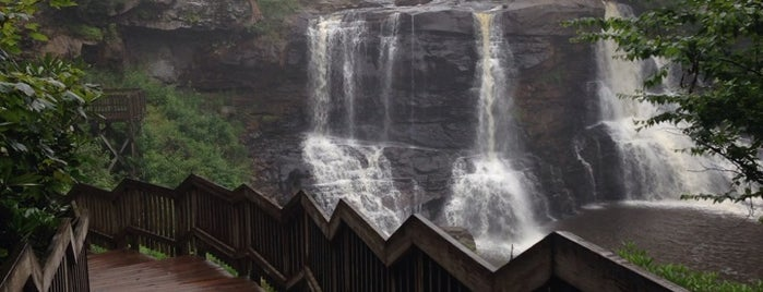 Blackwater Falls State Park is one of Wild and Wonderful West Virginia.