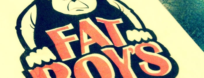 Fat Boy's The Burger Bar is one of Best Burger Places.
