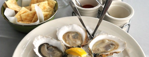 Perla's Seafood and Oyster Bar is one of 2014 Austin Chronicle First Plates Awards.