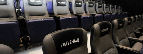 Violet Crown Cinema is one of 2014 Austin Chronicle First Plates Awards.
